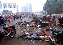 1998年印尼排华骚乱黑镜头6605396-文化频道图片库-大视野-搜狐