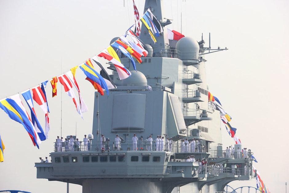"""中国首艘航母辽宁舰交接入列 - 速记天地 - 速记天地是 宣传""""手写速记"""" 的阵地"""