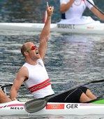 北京时间8月8日,挪威选手艾瑞克・维拉斯・拉尔森夺得男子单人皮艇 (K1) 1000米冠军。更多奥运...