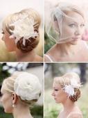 尽管新娘服装是装扮里最受关注的部分,但是一件恰到好处的头饰更能起到画龙点睛的作用。无论是可爱、优雅、...