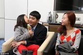 高清:李世石妻女助阵人机大战V 温馨互动爱意浓