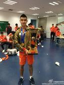 鲁能四外援披国旗庆祝 王大雷:我的第一个冠军