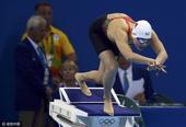 中国女将200米蝶泳进决赛 张雨霏水中展翅(图)