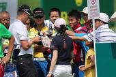 高清:中国公开赛决赛 杜夫纳和斯滕森一愁一喜