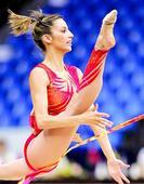 AlmudenaCid是出生于西班牙维多利亚的知名艺术体操选手,是艺术体操选手中运动生涯最长的,也是...