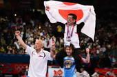 北京时间8月10日凌晨,2012年伦敦奥运会继续第13日角逐。在ExCeL展览中心进行的女子自由式摔...