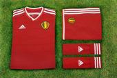 高清图:阿迪携手比利时 发布新球衣欲铸新辉煌
