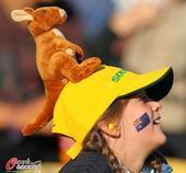 32强球迷之澳大利亚:各种袋鼠出没 美女秀性感