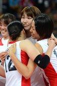 北京时间8月7日晚,2012年伦敦奥运会女排四分之一决赛在伯爵宫体育馆全面展开,B组排名第二的中国女...