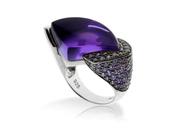 优雅高贵的紫色向来都是女性的心头好,而紫色的珠宝则凭借其极富女性魅力的气质受到不少人的追捧,12款大...