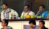 高清:国奥战泰国局势不利 蔡振华观战表情凝重