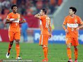 2016年9月14日,2016年亚冠联赛1/4决赛次回合:山东鲁能vs首尔FC。