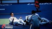 北京时间8月3日,男子团体佩剑半决赛韩国队战胜意大利队挺近决赛。更多奥运视频>> 更多奥运图片>>