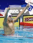 高清:孙杨世锦赛200米自夺金 双手指天显霸气