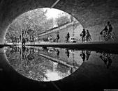 风光摄影:倒影巴黎
