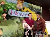 林丹夫妇为儿子办百日宴 一家人登台显温馨(图)
