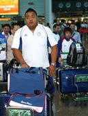 7月18日,中华台北奥运代表团首批人员抵达桃园国际机场。当日,参加2012年伦敦奥运会的中华台北体育...