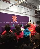 中国田径队很快将召开新闻发布会!(新华网) 更多奥运视频>> 更多奥运图片>>