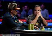 高清图:2016年世界扑克大赛决赛 顶级好手博弈
