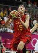 高清图:中国女篮胜克罗地亚 陈楠砍28分创纪录