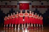 组图:中国女篮官方写真发布 铿锵玫瑰期待绽放