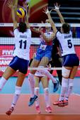 高清:女排大奖赛塞尔维亚3-1意大利 获小组第1