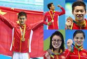 策划图:盘点中国泳军奥运表现 孙杨仍然是旗帜