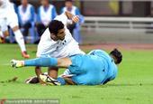 高清:国足0-0伊朗 曾诚伤退对手逃点武磊无奈
