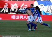 永昌1-0绿城 毛剑卿脱衣庆祝队友阻拦未果(图)
