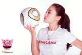 高清:欧洲杯女王十强展示 火辣美女钟情英格兰
