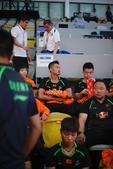 高清:2017苏杯1/4决赛 国羽抵达赛场备战印度