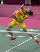 高清图:羽毛球女单小组赛 王仪涵获胜进十六强