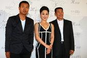 图文:2011搜狐视频电视剧盛典——白雨 杨清文 池源