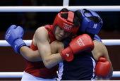 高清:女子拳击董程止步八强 梦碎伦敦难掩遗憾
