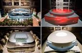 高清:皇马将建新伯纳乌 官方公布四款设计模型