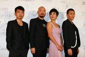 图文:2011搜狐视频电视剧盛典——姜寒 斌子 孙杨 张宁江