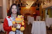 中国健儿李娜、林青峰、汪皓、郭伟阳四人出席活动。(搜狐体育摄)更多奥运视频>> 更多奥运图片>>