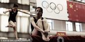中国蹦床队写真之二 跳跃的精灵舞动的公主(图)