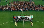 世界杯十佳图:德国队登顶捧杯 内马尔伤退心痛