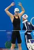 组图:女子4x100混合泳接力 中国小组第三晋级