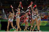 高清图:艺体团体决赛中国第11位 演绎如梦似幻