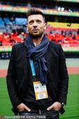 高清:国足战克罗地亚 马季奇现场观战助威母队