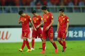 高清:国足0-0伊朗众将面露遗憾 武磊低头沮丧
