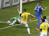 进球回放:哥伦比亚角球 古铁雷斯门前捅射得手