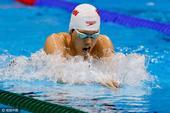 男子200米蛙泳半决赛 李响毛飞廉无缘决赛(图)