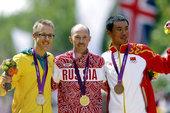 高清图:男子50公里竞走 俄罗斯夺冠司天峰摘铜