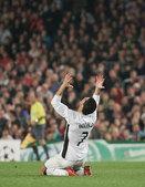 C罗生涯战巴萨图片回顾 屡输梅西国王杯演绝杀