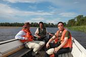 亚马孙河是世界上流域最广、流量最大的河流。它水量终年充沛,滋润着近700万平方公里的广袤土地,孕育了...