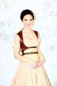 图文:刘雨欣 搜狐视频电视盛典 性感亮相红毯 (4)