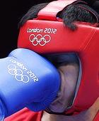 高清图:男子拳击比赛 正中脸刘强遗憾止步16强